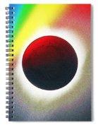 Solar Eclipse Spectrum  Of 2017 2 Spiral Notebook