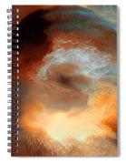 Solar Eruption Spiral Notebook