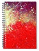 Solar Explosion Spiral Notebook