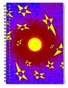 Solar Radiation Spiral Notebook