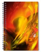 Solar Storm Spiral Notebook