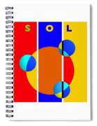 Solar Style Spiral Notebook