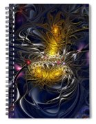 Solar Winds Spiral Notebook