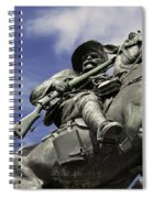 Soldier In The Boer War Spiral Notebook