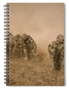 Soldiers In The Dust 2 Spiral Notebook