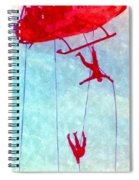 Soldiers In The Sky Spiral Notebook