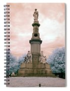 Soldier's Monument Spiral Notebook