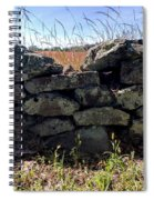 Soldier's View Of The Battlefield Spiral Notebook