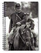 Solider On Horseback Spiral Notebook