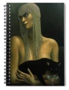 Solitare Spiral Notebook