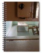 Solitary Confinement Cell Through Door Slat Spiral Notebook