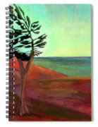 Solitary Pine Spiral Notebook