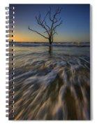 Solitude At Botany Bay Spiral Notebook