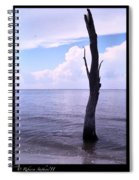 Solitude At Sea Spiral Notebook