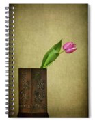 Solitude In Bloom Spiral Notebook
