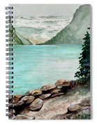 Solitude Of The Lake Spiral Notebook