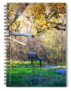Solitude Under The Sycamore Spiral Notebook