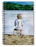 Solitude Upon The Lake Spiral Notebook