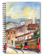 Soller In Majorca 01 Spiral Notebook