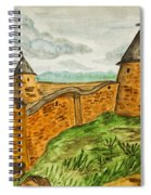 Solovetsky Monastery, Russia Spiral Notebook