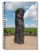 Solstice Celebrations - Menhir Stone Shepherd Spiral Notebook
