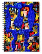 Somebody Standing On The Promises Of God Spiral Notebook