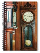 Somebodys Grandfathers Clocks Spiral Notebook