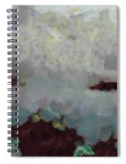 Someone Behind The Clouds Spiral Notebook