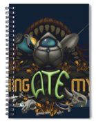 Something Ate My Alien #3 Spiral Notebook