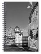 Something For Everyone - Bw Spiral Notebook