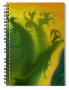 Something Green Spiral Notebook