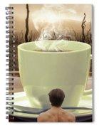 Something Hot  Spiral Notebook