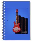 Hard Rock Cafe Sign In Baltimore Spiral Notebook