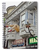 Something To Find Only The In The Haight Ashbury Spiral Notebook