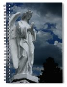 Somewhere Between Heaven And Earth Spiral Notebook