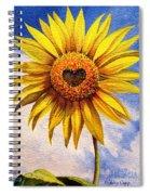 Son Kissed Spiral Notebook