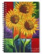 Sonflowers I Spiral Notebook