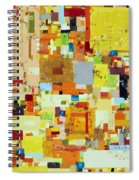Song Of Solar Fusion Spiral Notebook