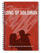 Song Of Solomon Books Of The Bible Series Old Testament Minimal Poster Art Number 22 Spiral Notebook