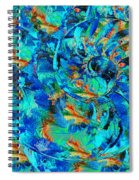 Song Of The Sea - Beach Art - By Sharon Cummings Spiral Notebook