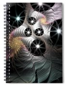 Song Of The Stars Spiral Notebook