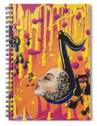 Song Singing Song Spiral Notebook
