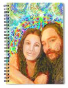 Sonia Marie And Her Sweetheart Spiral Notebook