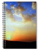 Sonnenuntergang 17052 Spiral Notebook