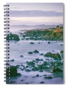 Sonoma Coast Shoreline Spiral Notebook