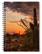 Sonoran Summer  Spiral Notebook