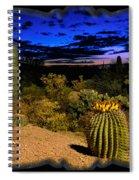 Sonoran Twilight Spiral Notebook