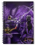 Sons Of Blood And Thunder Spiral Notebook