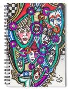 Sooooooo Many Faces Spiral Notebook