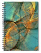 Soothing Blue Spiral Notebook